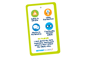 SkyHop Safety Card